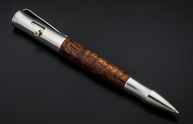 William Henry BA1 Bolt Action Pen Maui - Koa Wood