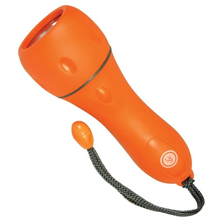Ultimate Survival Floating AA Flashlight - Orange