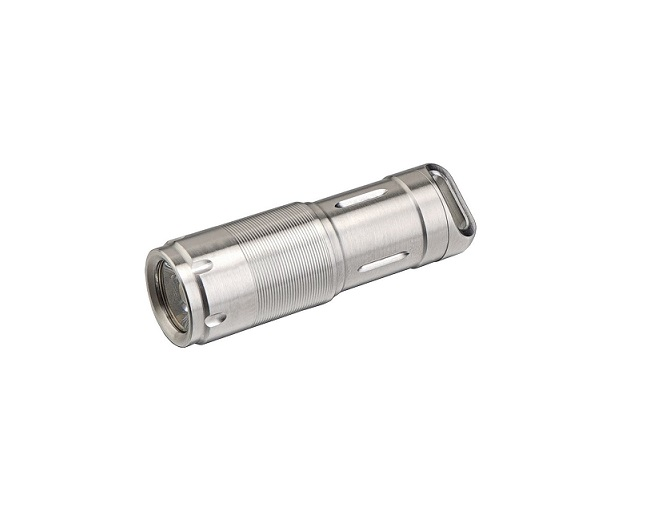 MecArmy X2S Rechargeable Mini Light Stainless Steel -130 Lumens