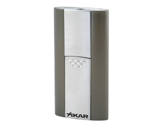 XIKAR 506GM Flash Lighter - Gunmetal Gray