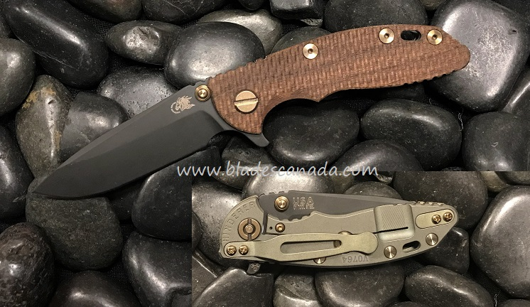Hinderer XM-18 3.0 Gen 6 Spearpoint Vintage - Textured Walnut