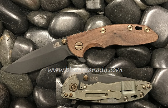 Hinderer XM-18 3.0 Gen 6 Spearpoint Vintage - Smooth Walnut