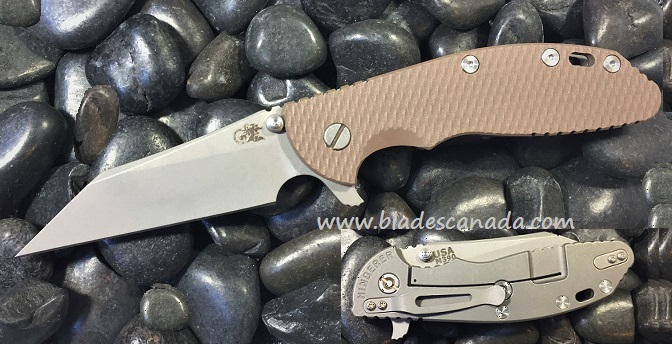 Hinderer XM-24 4.0 Wharncliff WF - FDE G10