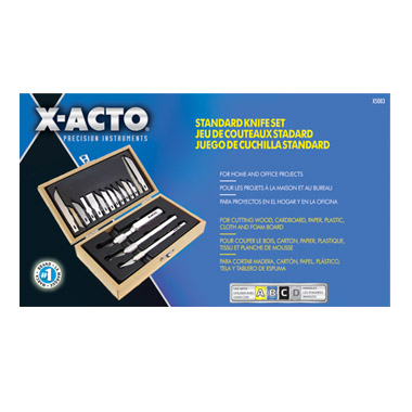 X-Acto X5083 Standard Knife Set