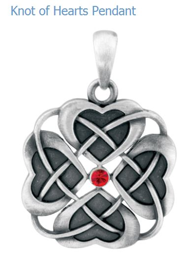 YTC Summit 2812 Knot Of Hearts Pendant