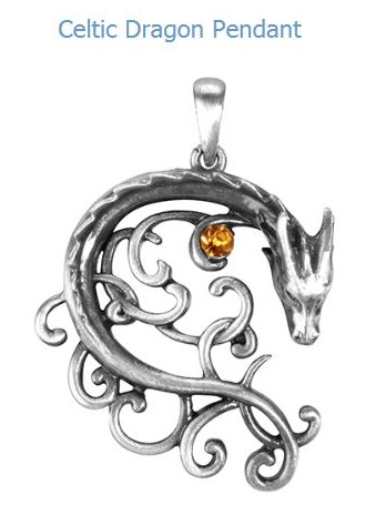 YTC Summit 2956 Celtic Dragon Pendant