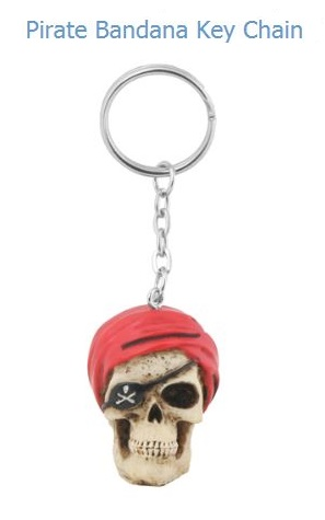 YTC Summit 5832 Pirate Skull Key Chain
