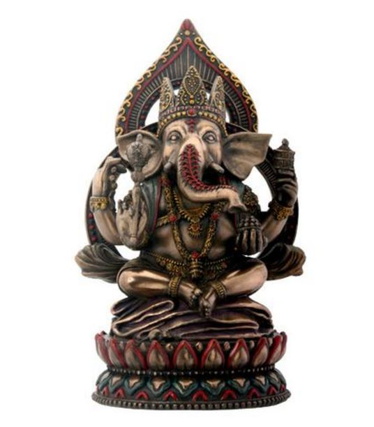 YTC Summit Seated Ganesha on Lotus YTC6774