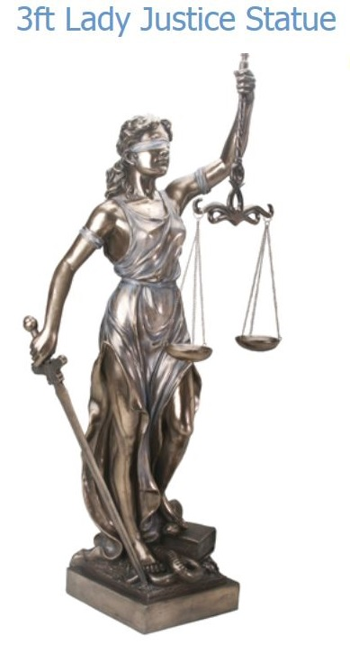 YTC Summit 7918 Lady Justice (3 ft)