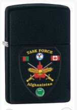 Zippo 26696 Canadian Forces Afghanistan - Ltd Edition Black
