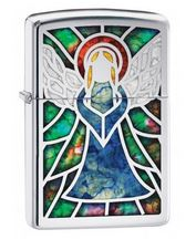 Zipppo 28967 Fusion Angel Stained Glass