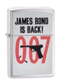 Zippo 29563 James Bond Is Back