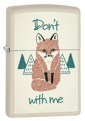 Zippo 29615 'Don't Fox with Me'
