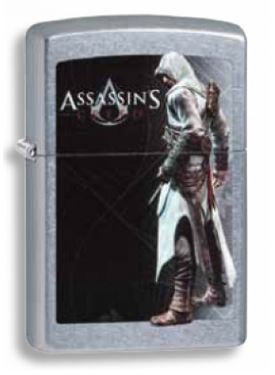 Zippo 31492 Assassin's Creed Chrome