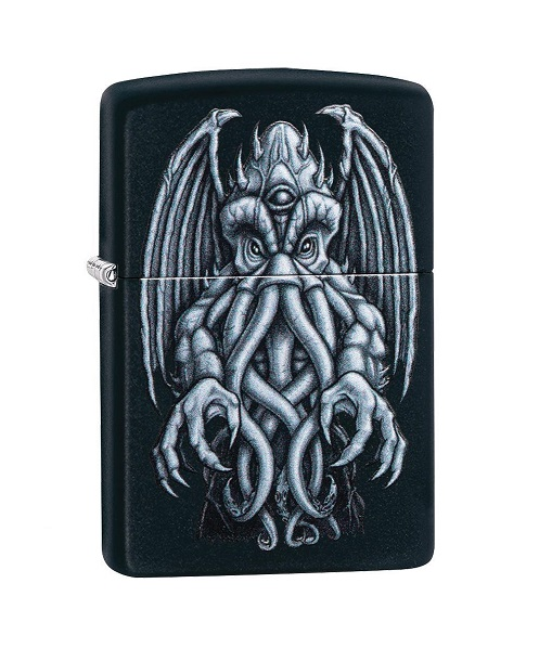 Zippo 49122 Winged Monster Design