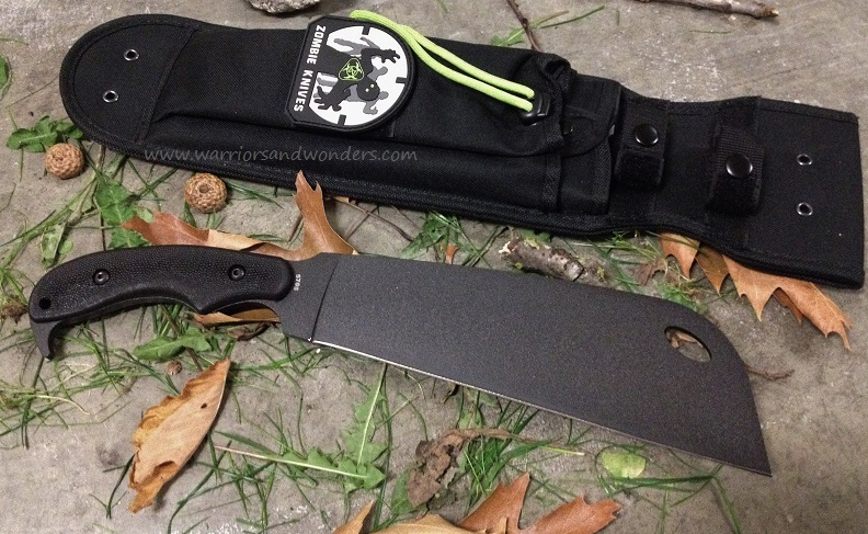Ka-Bar 5705 Zomstro Chopper US Made, Nylon Sheath (Online Only)