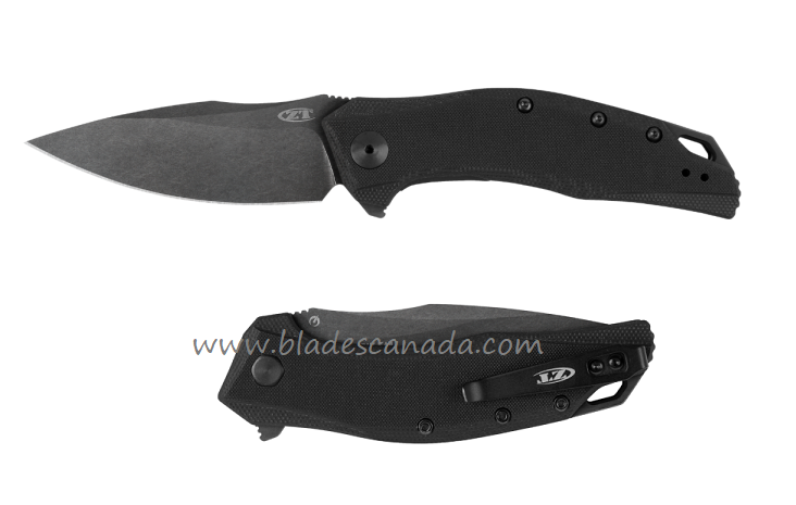 Zero Tolerance ZT357BW 20CV Blackwash, Black G10 - Assisted Opening