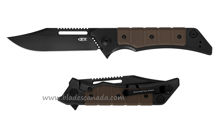 Zero Tolerance ZT223 CPM-20CV Galyean Folder - Brown G10
