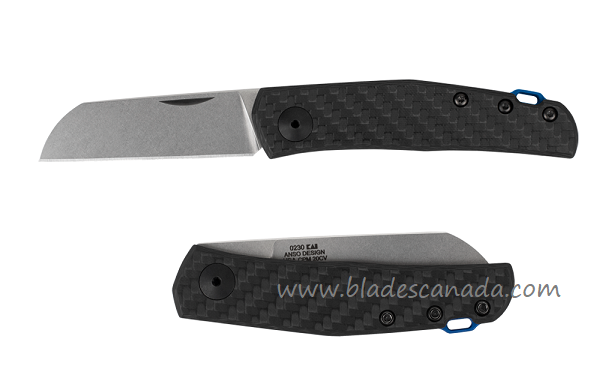 Zero Tolerance 0230 Anso CPM 20CV Carbon Fiber Slipjoint