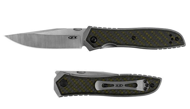 Zero Tolerance ZT640 Emerson CPM-20CV Green Carbon Fiber