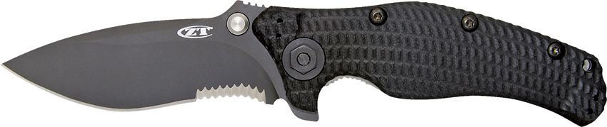 Zero Tolerance ZT200ST Partially Serrated
