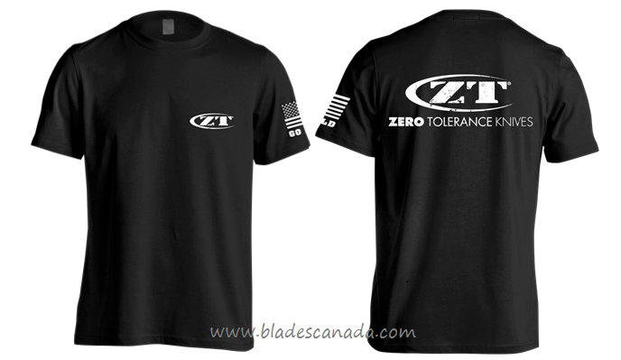 Zero Tolerance Short Sleeve T-Shirt Black