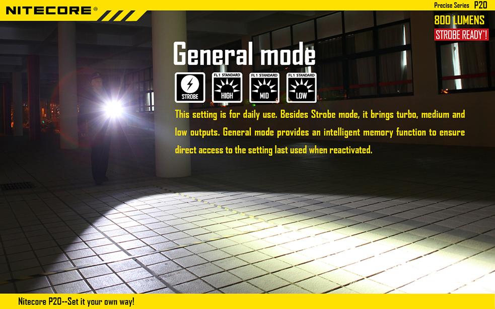 Nitecore P20 Flashlight 800 Lumens Ncp20 102 99cdn